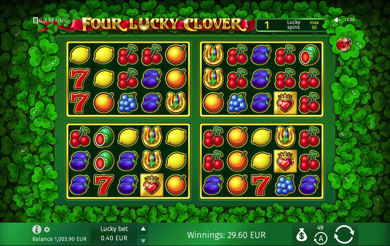Lucky Clover Slot Machine