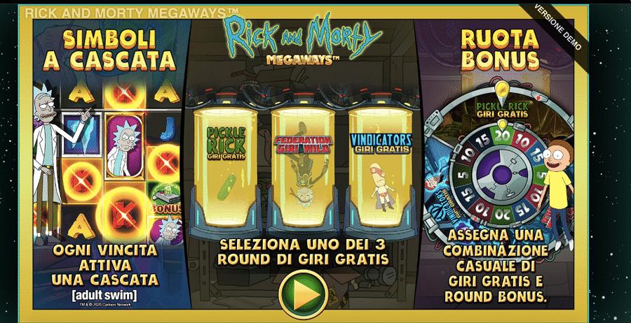 Rick and Morty Megaways Slot Machine