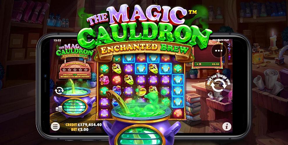 Pronti a mescolare pozioni nella nuova slot The Magic Cauldron: Enchanted Brew?