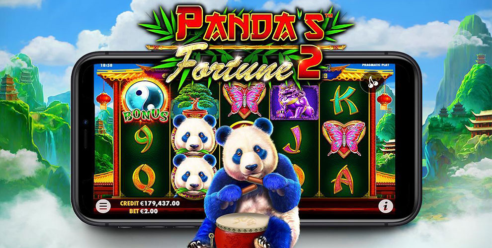 Pragmatic Play presenta la sua nuova slot machine Panda's Fortune 2
